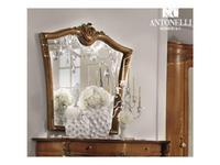 Antonelli Moravio зеркало навесное VN 25  cat. B (орех) Vittoria