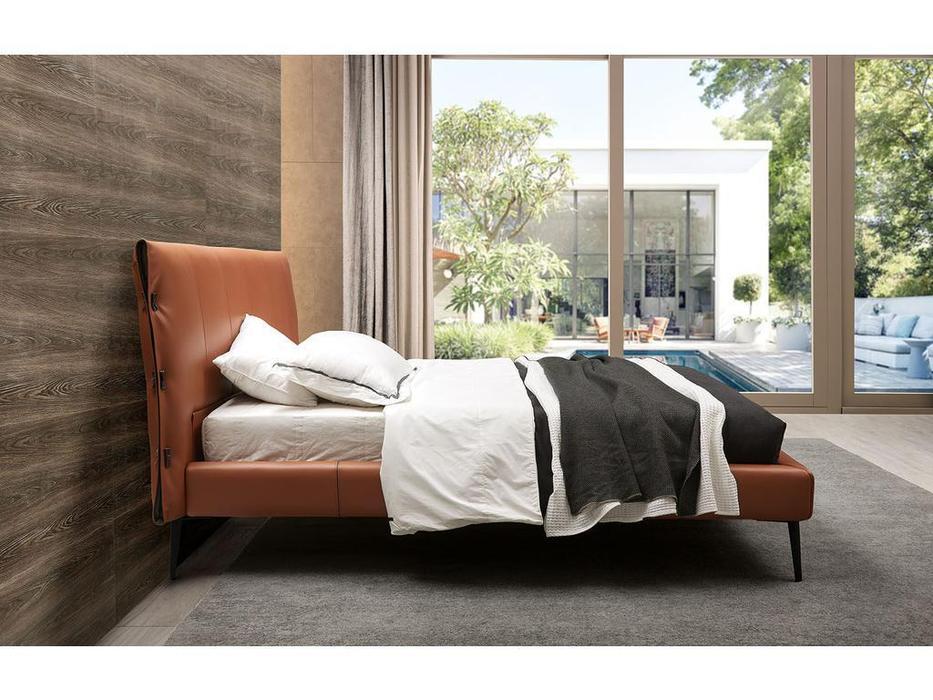 ESF кровать двуспальная 180х200 (коричневый) 1727