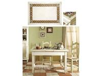 L Antica Deruta стол обеденный раскладной (крем) Campagna Umbra