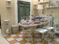 L Antica Deruta стол обеденный  (крем) Campagna Umbra