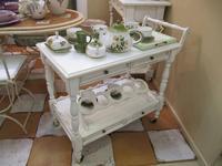 L Antica Deruta стол сервировочный  (крем) Campagna Umbra