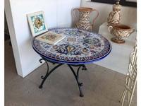 L Antica Deruta стол обеденный  (беж, синий) Campagna Umbra