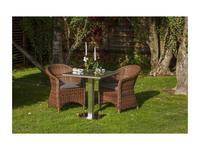 4SIS кресло садовое  (темно-коричневый) Равенна