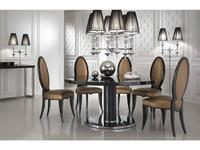 DV Home Collection стол обеденный  (laccato, кожа под крокодила) Adler
