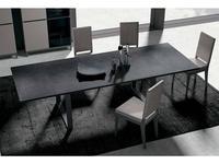 Status стол обеденный 190х104 раскладной (серый, беж) Kali
