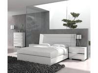 Status кровать двуспальная 198х203    (белый) (белый) Dream