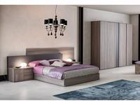 Status кровать 180х200 (серый) Futura