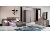 Status спальня современный стиль  (серый) Futura