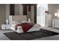 Status кровать двуспальная 160х203 люкс (белый) Sirio White