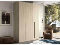 Status шкаф 3 дверный  (беленый дуб) Perla
