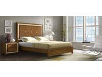 Arteal кровать двуспальная 150х200 (черешня) Cesarus
