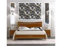 Tosato кровать двуспальная 180х200 (орех, золото) Desideri