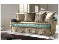 Domingo диван  (ткань кат.А) Malvina Capitonne