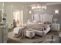 Piermaria кровать двуспальная 180х200 (белый) Boheme