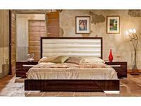 H2O design кровать двуспальная 197х208 (185х200) (ebony) Romano