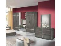 H2O design шкаф 6-ти дверный модульный (grey) San Marino