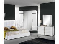 H2O design шкаф 6-ти дверный модульный (белый) San Marino
