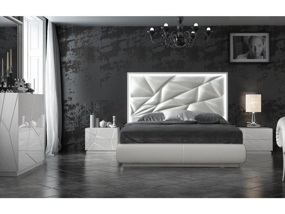 Franco Furniture кровать двуспальная  (белый) KIU 1242