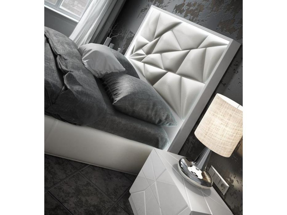 Franco Furniture кровать двуспальная 180х200 (белый) KIU 1243