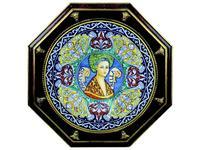 L Antica Deruta картина в раме Giovanna Bella (керамика) Museo