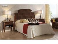 Lino кровать двуспальная  (эбеновое дерево) Dafne