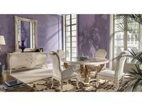 Stella Del Mobile стол  (белый) Le Rose