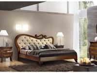 Vaccari кровать двуспальная Desirè 180х200 (орех) Las Vegas