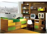 5211870 детская комната современный стиль MueblesPalacio: Cuko
