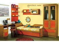5211872 детская комната современный стиль MueblesPalacio: Cuko