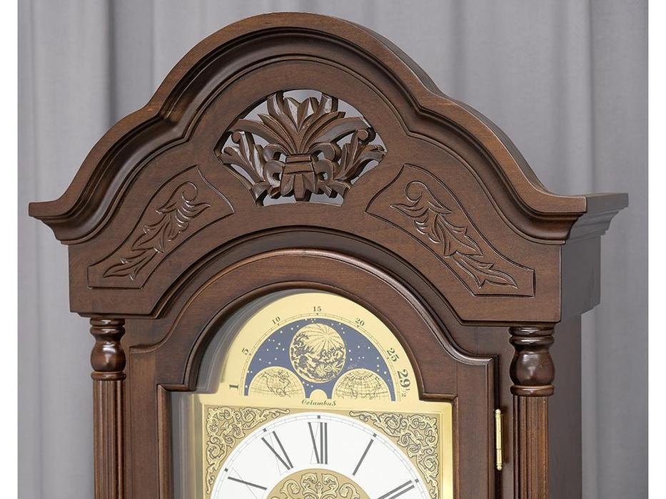 Columbus часы напольные  (орех)