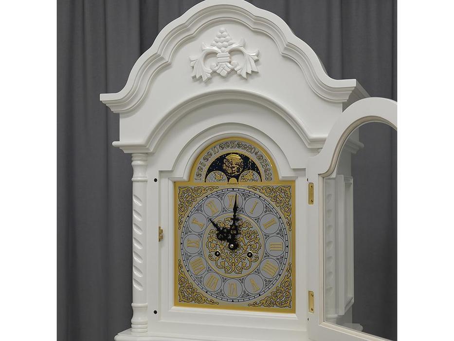 Columbus часы напольные  (белый) Маленькая принцесса