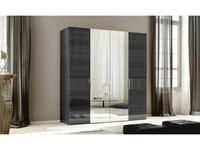 ALF шкаф 4-х дверный  (grey) Montecarlo