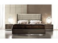 ALF кровать 160х200 (gris, ecopiel) Monaco