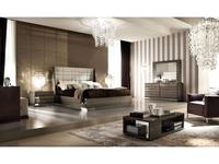 ALF спальня современный стиль  (gris, ecopiel) Monaco