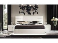 ALF кровать двуспальная 160х200 (bianco lucido) Canova