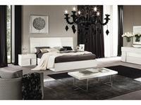 ALF кровать двуспальная 180х200 (bianco lucido) Canova