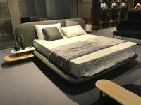 ALF кровать двуспальная 160х200 в ткани (серый) Neyo