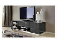 ALF тумба под телевизор  (серый) Montecarlo