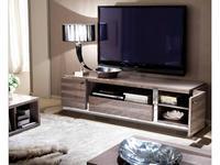 ALF тумба под телевизор  (лакированный шпон канадской березы) Monaco