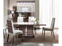 ALF стол обеденный раскладной (лакированный шпон канадской березы) Monaco
