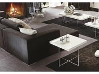 ALF стол журнальный 60х60 (bianco lucido) Canova