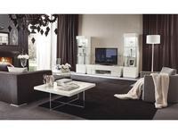 ALF стенка в гостиную  (bianco lucido) Canova