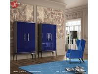 La Ebanisteria библиотека Beol (Midline Azul Noche Piano) Pluie De Couleurs