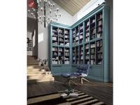 La Ebanisteria библиотека ESCORIAL (Azul Spring interiors Azul Noche) Hamster