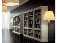 La Ebanisteria библиотека ESCORIAL (blanco porto patinado) Hamster