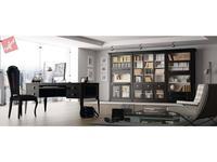 La Ebanisteria библиотека ALTAIR (Negro desgastado interiors Vainilla) Hamster