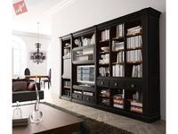 La Ebanisteria библиотека MUSEUM (Negro desgastado interiors Cerezo patinado) Hamster