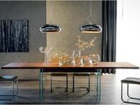 Cattelan стол обеденный раскладной (walnut) Ikon Drive