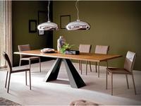 Cattelan стол обеденный раскладной (walnut) Eliot Wood Drive