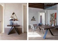 Tonin стол-трансформер  (дуб, графит) Ventaglio